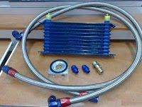 OIL COOLER ONE SET 2 ADAPTORS RM730.00