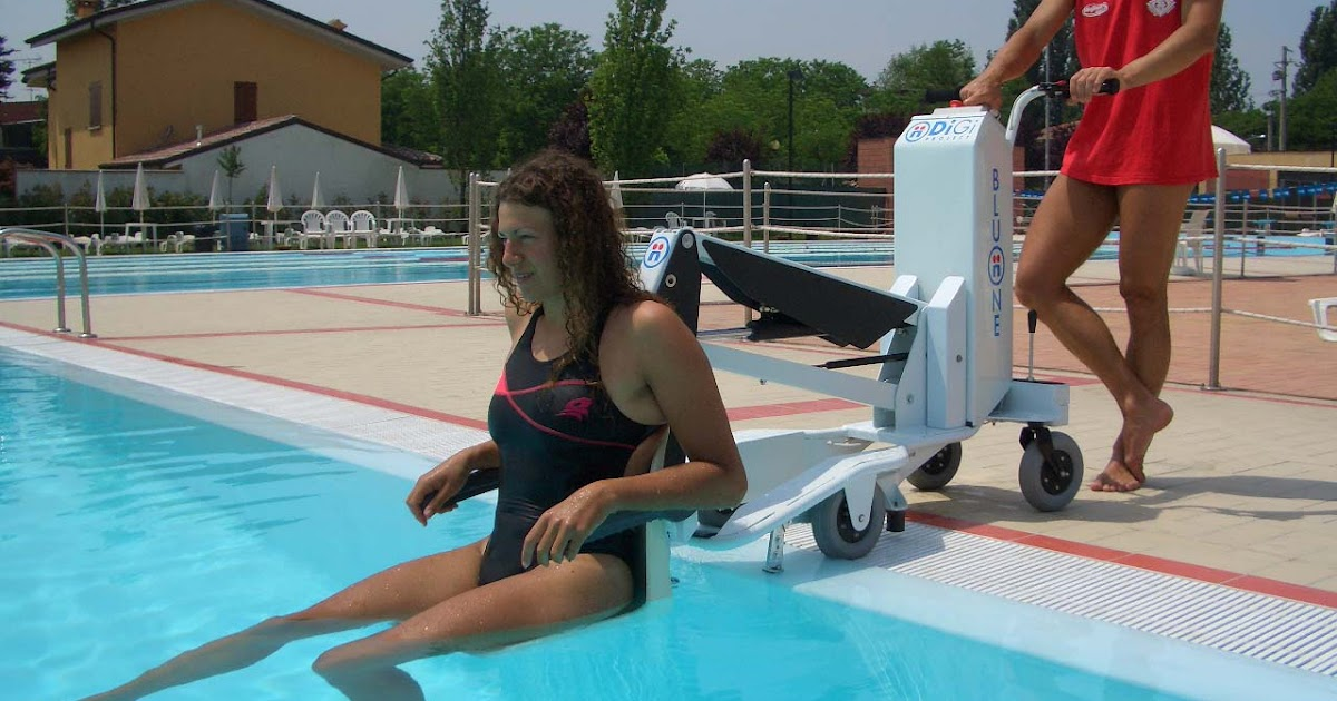 Mobility Products For Disabled People Blu One Swimming Pool Lift