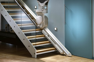 Powered Hinge Stair Lift