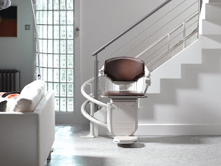 Solus Curved Stairlift