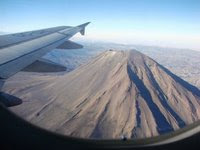 El volcán Huaynaputina