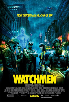 Poster final de Watchmen