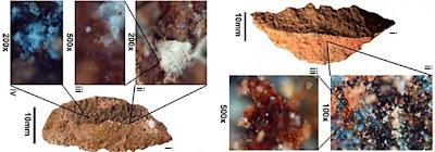 Evidencia de pegamento en la Edad de Piedra