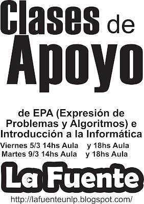 imagen CLASE DE APOYO CURSO DE INGRESO