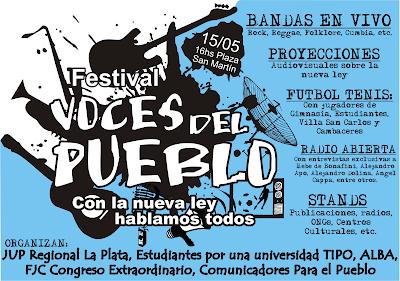 imagen Festival VOCES DEL PUEBLO