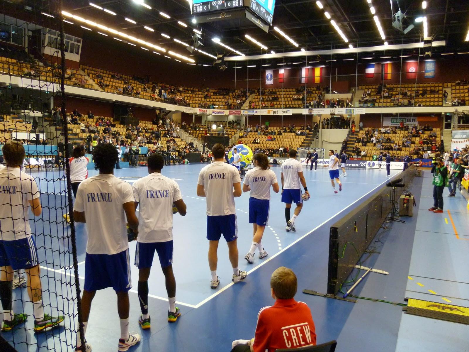 Mathieu en su de 22 me coupe du monde de handball masculin - Coupe de monde de handball ...
