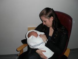Tante Camilla og meg