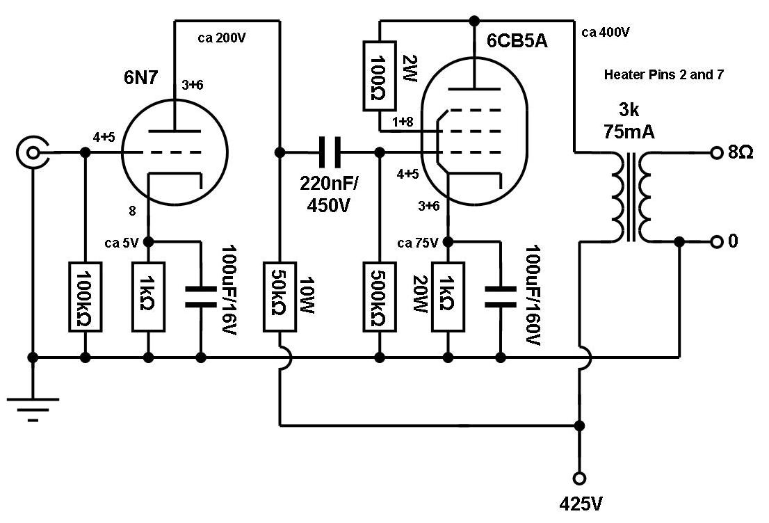 vinylsavor  single ended amplifier concept  part 4
