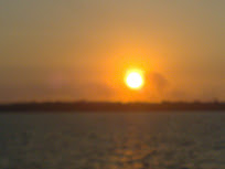 Senja - 'scene' diambil dari feri Mnbk ke Lbn