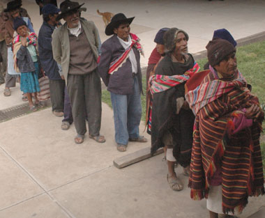 Vejez en Bolivia