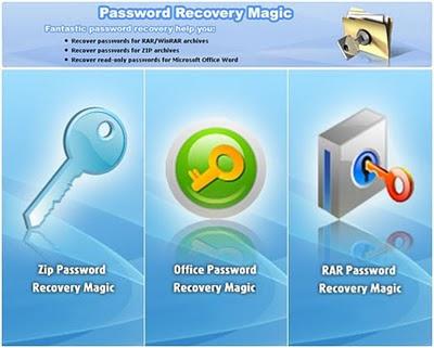 RAR Password Recovery/Remover Magic 6.1