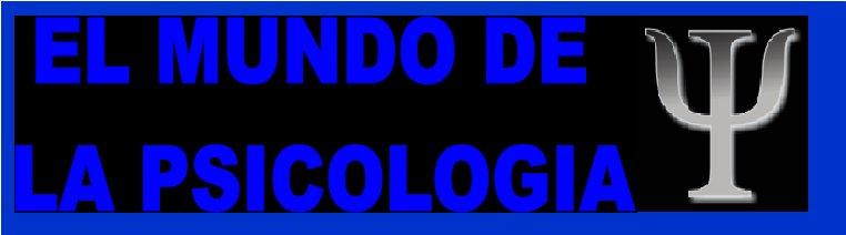 EL MUNDO DE LA PSICOLOGIA