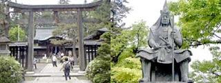 上杉神社と上杉謙信