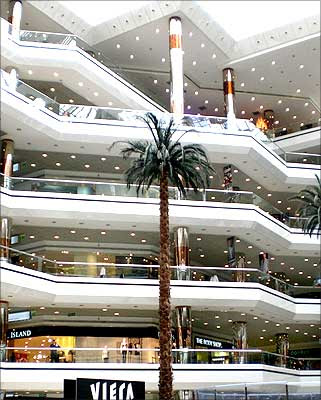This is one of the biggest and first shopping malls in the