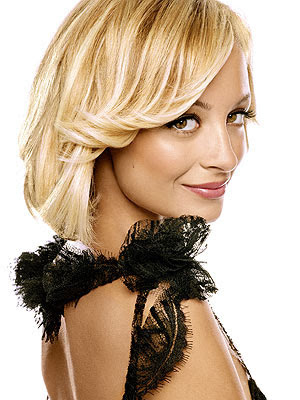 nicole richie tattoo. nicole richie long blonde hair