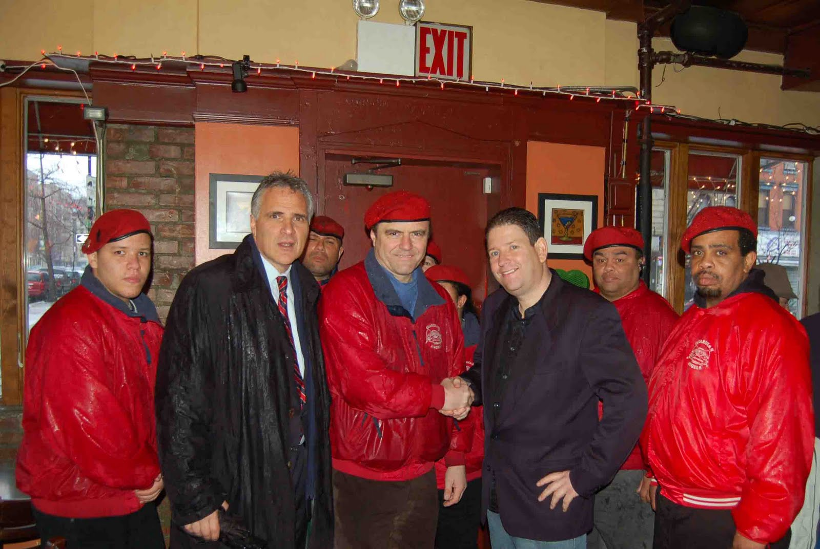 [Kenneth+E.+Mangano+With+Curtis+Sliwa,+Todd+Shapiro+And+The+Guardian+Angels]