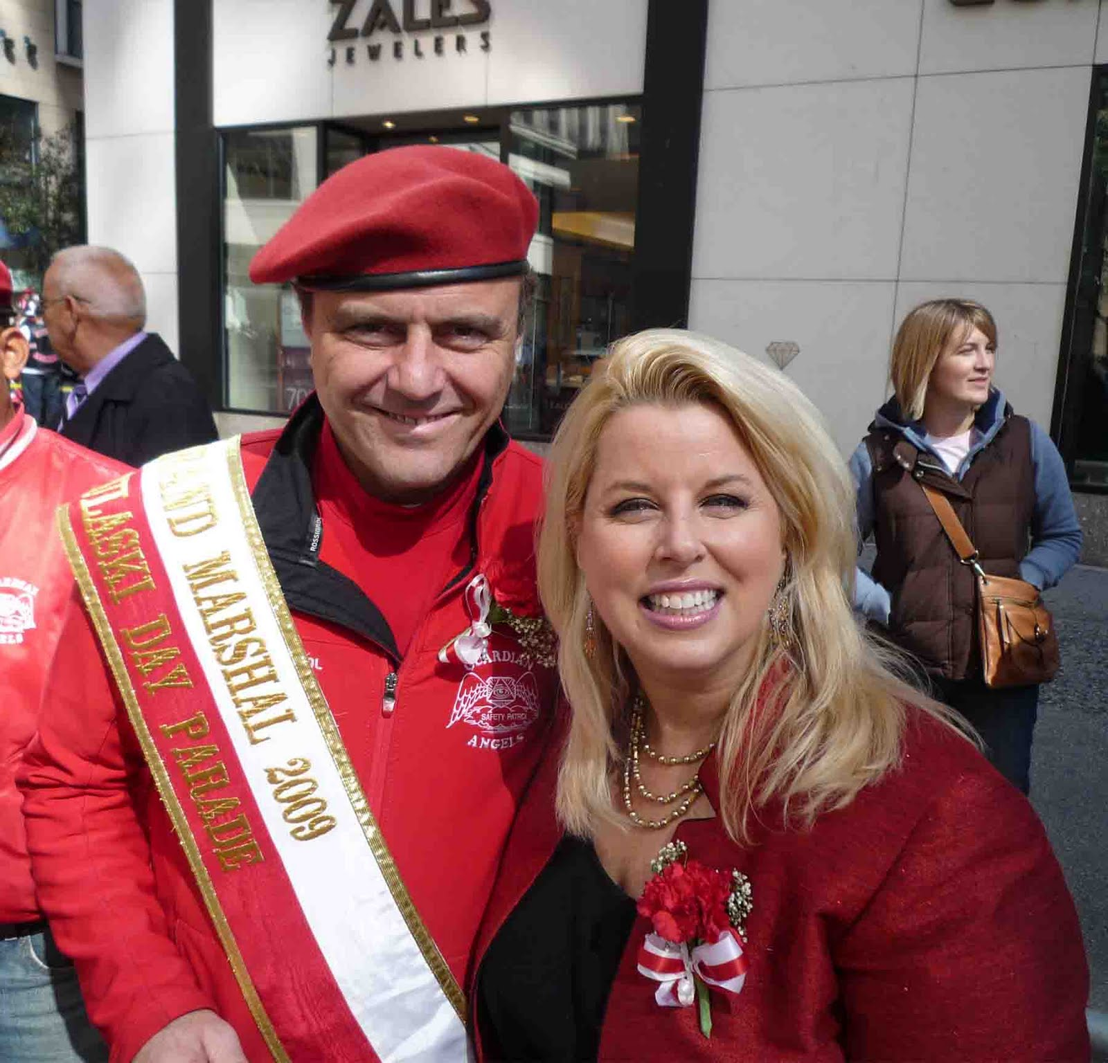 Times Square Gossip: RITA COSBY AT ANNUAL PULASKI DAY PARADE