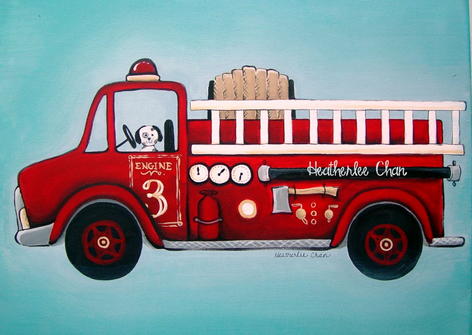 Fire truck Heather leeChan