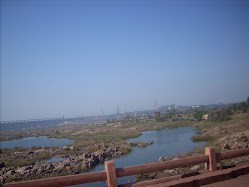 View of TB Dam from bus window