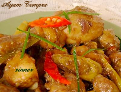 ayam tempra