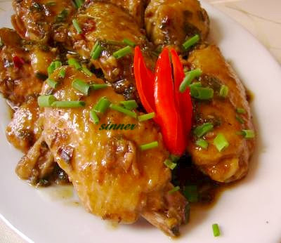 Sweet Spicy Sticky Chicken