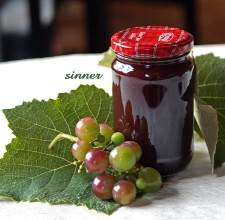 Grapes Vodka Jam