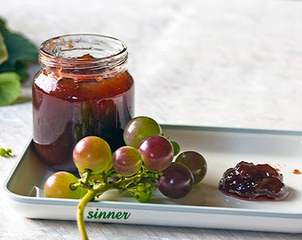 grape vodka jam