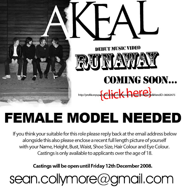 Female Models WANTED For Music Video