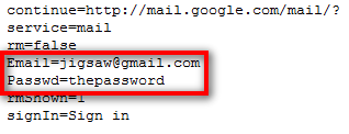 gmail passowrd hacking