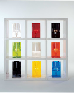 Kartell Take Table Lamps