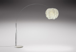 Fiela Feather Lamp