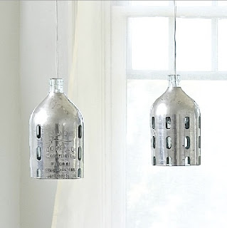 Seltzer Bottle Pendants by Sundance