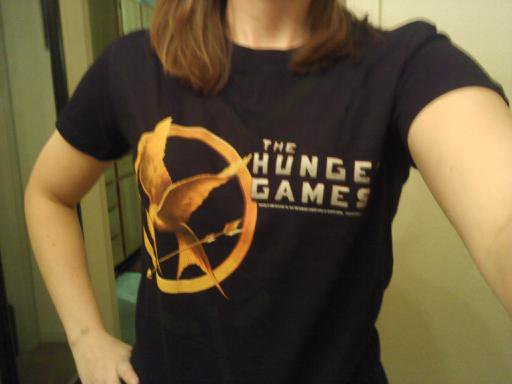 hunger games t shirt