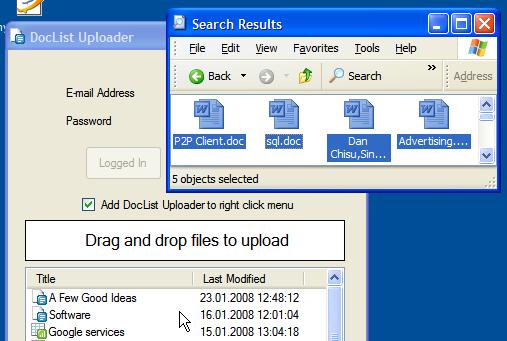 Google Docs Uploader: googlesystem.blogspot.com/2008/01/google-docs-uploader.html