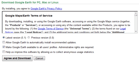 google earth 2012 free  for windows xp