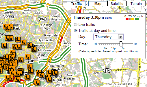 Google Maps Predicts Traffic Conditions