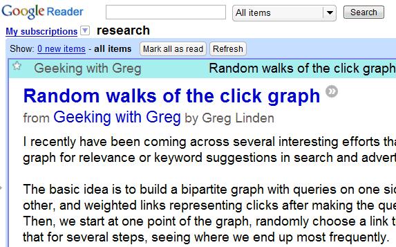 Increase Font Size in Google Reader