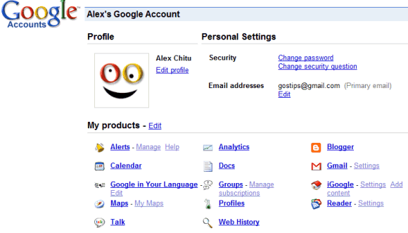 how to use a google account