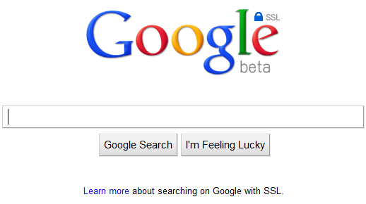 google images search. As you can see, if you use Google Search over SSL,
