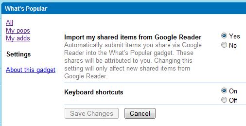 Sociálnější Google Reader
