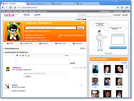 google s orkut in brazil Orkut, popular in india and brazil, did not do so well in other parts of the world  new delhi: orkut, google inc's first social networking site, will.