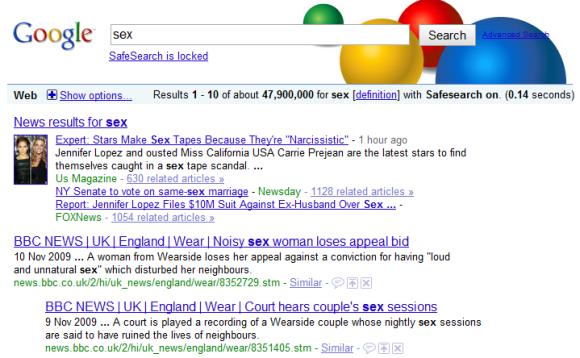 Google Parental Controls: Lock SafeSearch