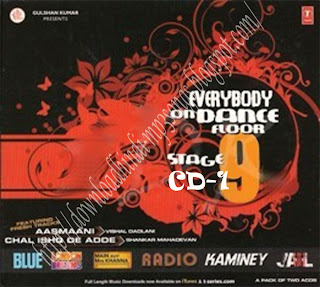 Dance Floor Stage 9 Hindi Remix CD 1