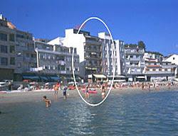 Hotel primera linea de playa cerca Sanxenxo Rias Bajas Galicia