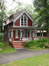 Cottage Houses with White Trim