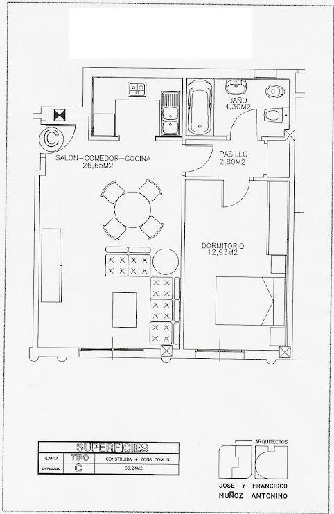 Planos de las viviendas del edificio gente joven - Planos de viviendas ...