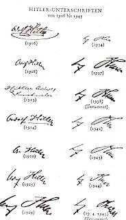 Las firmas de hitler Firmas+Hitler
