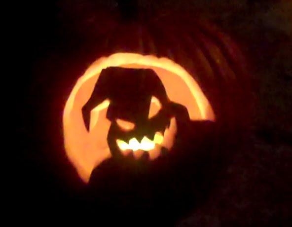 Oogie Boogie Pumpkin Template TROUT: My Oogie...