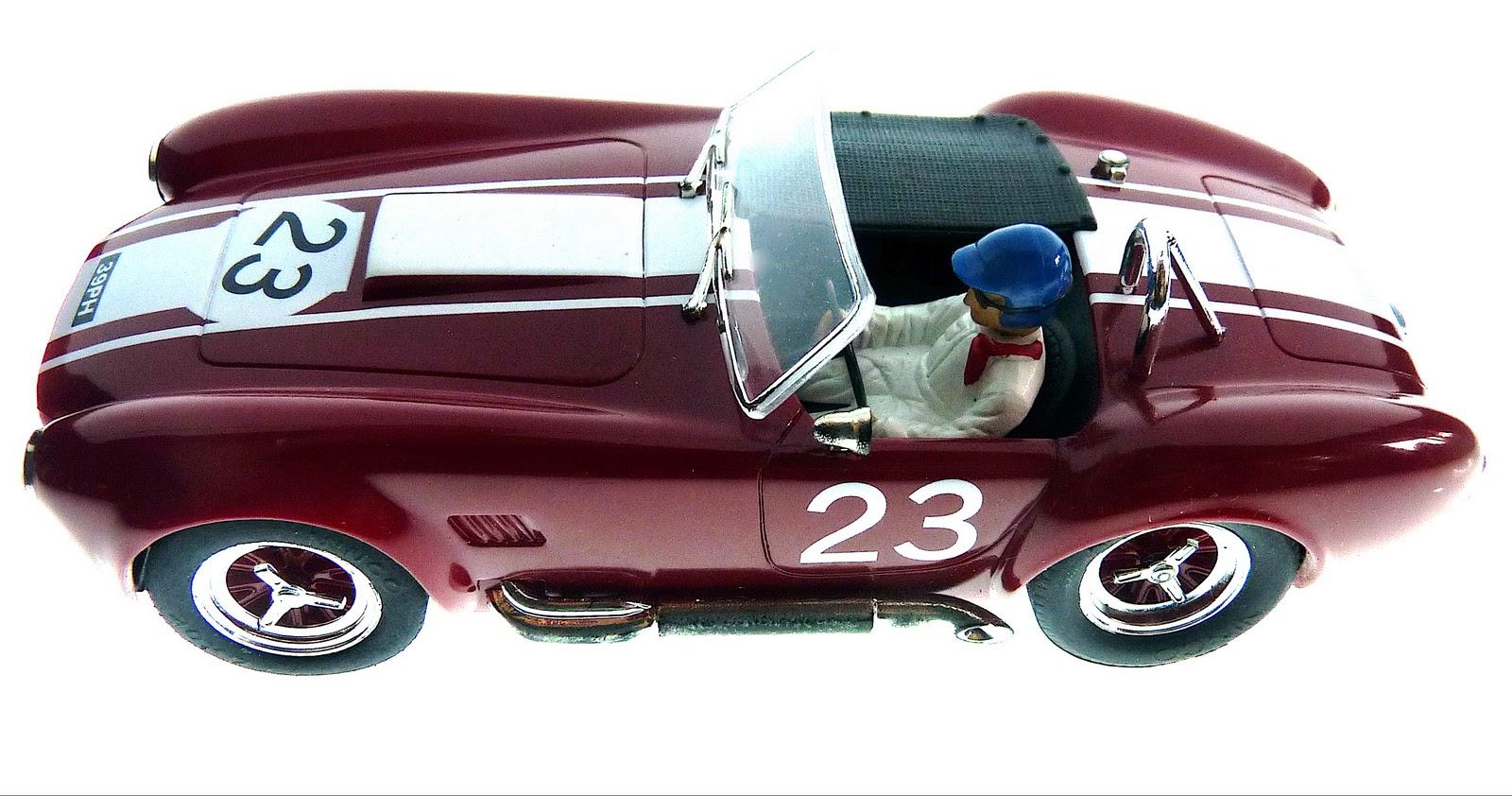 Mrrc 1//32 shelby cobra short roof-car body slot kit revell monogram classic