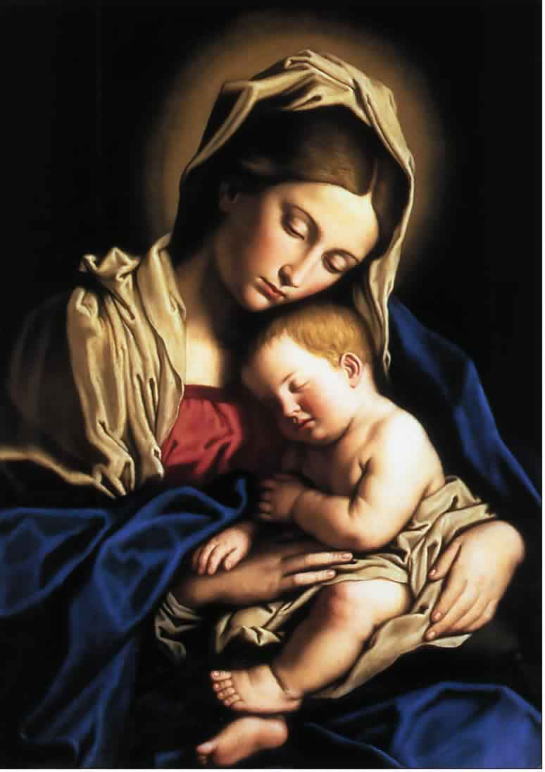 Prayer for the intercèssion of the blessèd virgin mary mother of